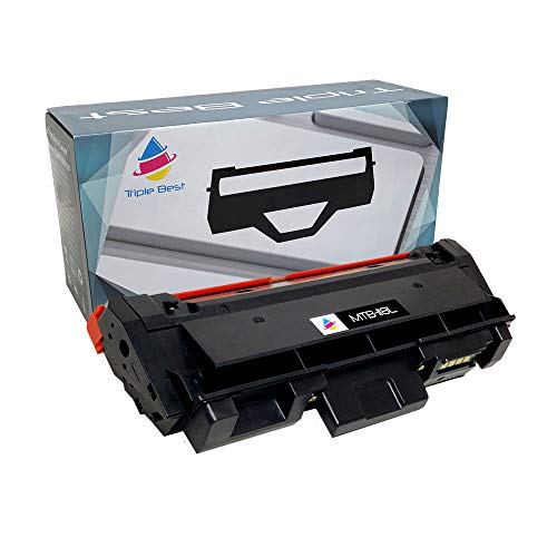 Triple Best MLT-D118L Compatible High Yield Black Laser Toner Cartridge for Samsung Xpress M3015DW M3065FW (4,000 Page Yield)