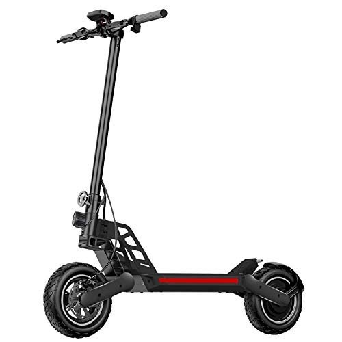 Hiboy Titan Electric Scooter - 800W Motor 10' Air Tires Up to 28 Miles & 25 MPH Quick-Release Folding, Electric Scooter for Adults with Dual Braking System, Off Road Scooter with Long Range Battery