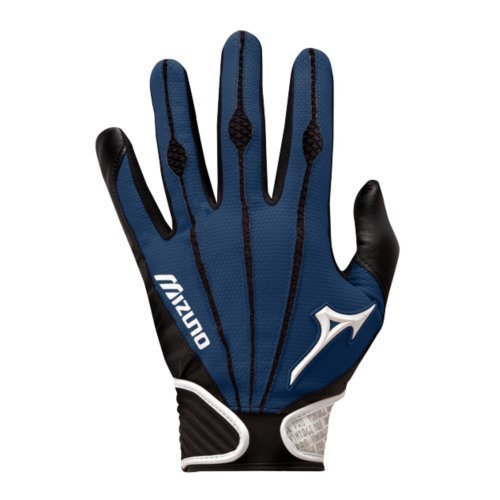 Mizuno Youth Vintage Pro Batting Gloves, Navy, Large