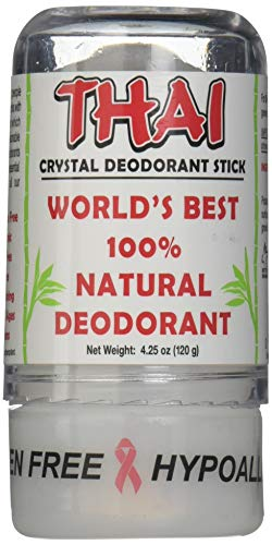 Deodorant Stones of America: Thai Crystal Deodorant, 4.25 oz (Pack of 4)