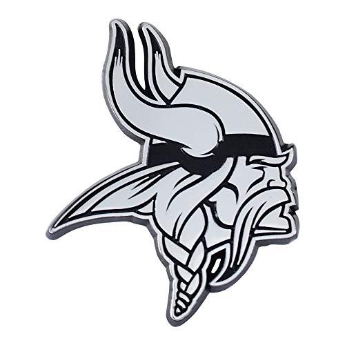 NFL Minnesota Vikings Premium Metal Auto Emblem
