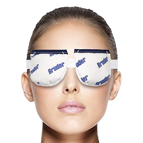 Bruder Moist Heat Eye Compress | Microwave Activated. Relieves Dry Eye, Styes, Gland Dysfunction