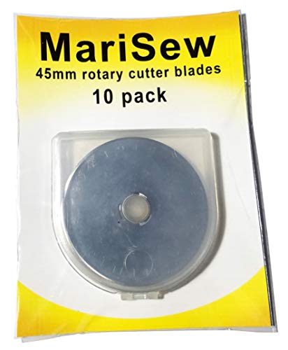 Marisew 45mm Rotary Cutter Blades 10-Pack