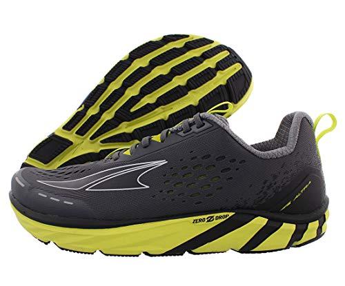 ALTRA Men's Torin 4 Road Running Shoe, Gray/Lime - 10 M US
