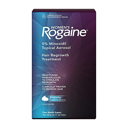 Women's Rogaine Hair Regrowth Treatment Foam, 4 Month Supply
