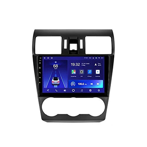 HBWZ Android 10.0 Car Stereo Sat Nav Radio for Subaru Forester 4 2012-2015 GPS Navigation 9''Head Unit Touchscreen MP5 Multimedia Player Video Receiver with 4G WiFi SWC Carplay