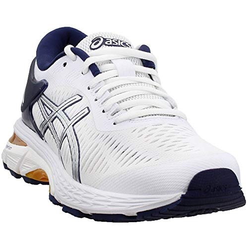 ASICS Womens Gel-Kayano 25 X Naked Running Casual Shoes, White, 5