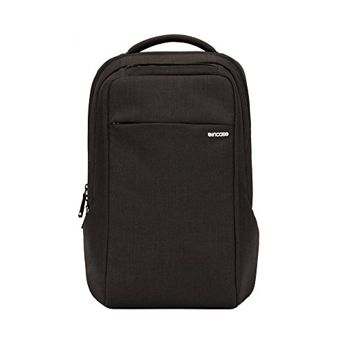 Incase ICON Slim Backpack, Compatible with Up to 16' MacBook Pro, Modern and Minimalist w/Ultra-Durable Woolenex Construction, Graphite (INCO100347-GFT)