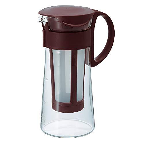 Hario Mizudashi Cold Brew Coffee Pot, 600 ml, Brown