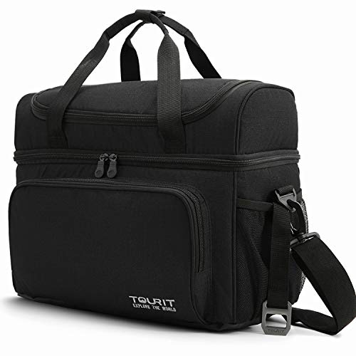 TOURIT Insulated Cooler Bag 25 Cans Large Lunch Bag Soft Sided Cooler for Men Women to Picnic Camping Beach Work Travel