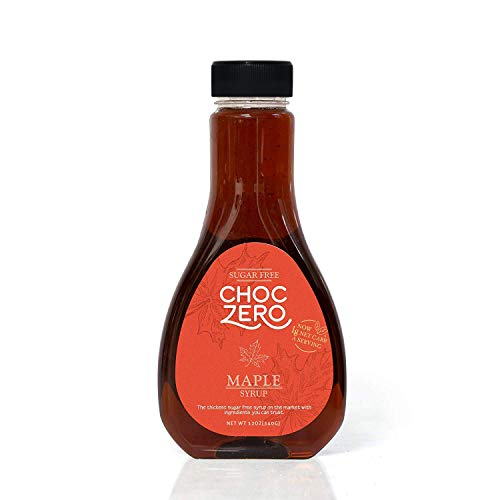 Honest Syrup, Maple Sauce. Sugar free, Low Carb, Sugar Alcohol free, Gluten Free, No preservatives, No added water. Dessert and Breakfast Topping Syrup. 2 Bottles (2X12oz)