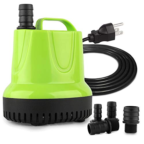 FREESEA 660 GPH 40W Submersible Water Pump for Pond Aquarium Hydroponics Fish Tank Fountain Waterfall