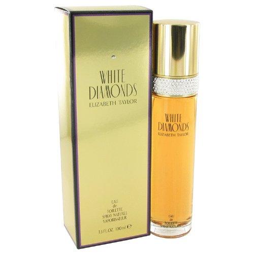 WHITE DIAMONDS BY ELIZABETH TAYLOR ~ 3.3 / 3.4 oz EDT Perfume for Women