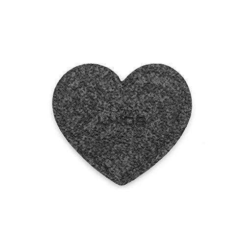 LHiDS Creative MagEasy Black Heart Magnetic Dot, Magnetic Decoration, Strong Refrigerator Magnets, Fridge Sticker, Whiteboard Magnetic, 1 Piece