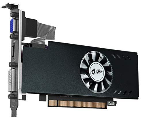BTO High Profile 2GB AMD Radeon RX550 Phoenix Fan Edition (DVI-D, HDMI & VGA) PCI-E Video Graphics Card GPU (Triple Monitor Support) Compatible with Dell, HP & Lenovo Desktops, SFF & Towers Only