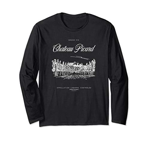 Star Trek: Picard Chateau Picard Long Sleeve T-Shirt