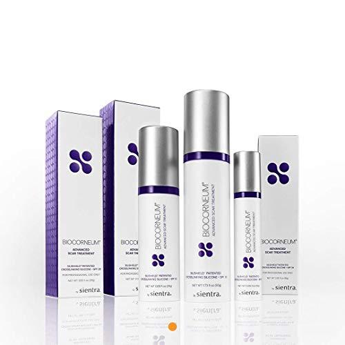BioCorneum Advanced Scar Treatment Gel with SPF 30 - Silishield Patented Crosslinking Silicone - 50 gram - Certified Distributor