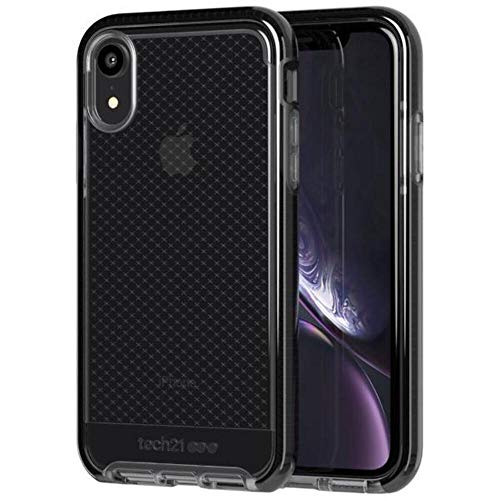 tech21 Evo Check Apple iPhone XR with 12 ft Drop Protection - Smokey/Black