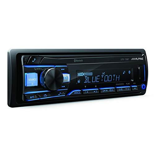Alpine UTE-73BT Advanced Bluetooth Mech-Less Digital Media Receiver (Does not Play CDs)