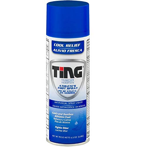 Ting Antifungal Spray Liquid Cool Relief for Athlete's Foot 4.50 oz. (1-Unit)