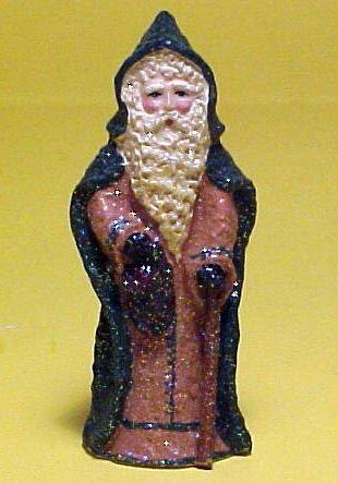Enesco Belsnickle 2001 Santa with Bag 862444