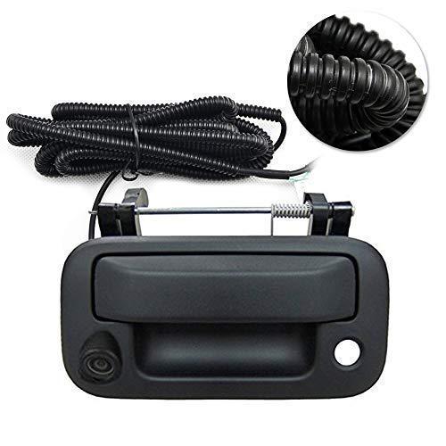 Ford Rear View Camera Backup Camera Tailgate Handle Car Rear View Camera Car Camera for Ford F150/F250/F350/F450/F550 (Color: Black)