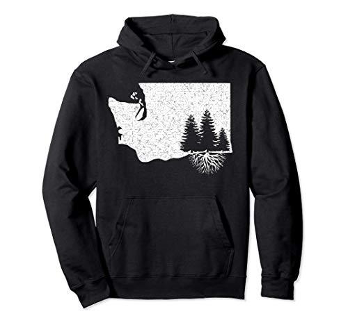 Washington State Roots Sweatshirt Pullover Hoodie