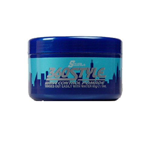 Luster's S-Curl 360 Style, Wave Control Pomade 3 oz (Pack of 18)