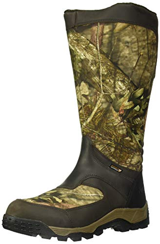 Rocky Men's Sport Pro Waterproof Side-Zip Snake Boot Knee High, Mossy Oak Break Up Country, 12 M US