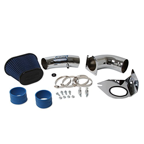 BBK Performance 1712 Cold Air Intake System - Power Plus Series Performance Kit For Ford Mustang 5.0L - Fenderwell Style- Chrome Finish