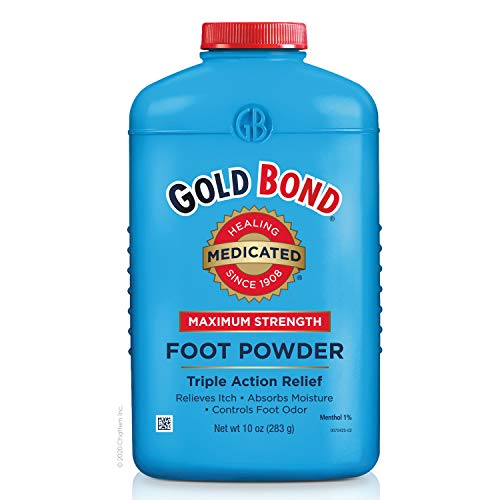 Gold Bond Maximum Strength Foot Powder, Multi No Flavour 10 Ounce