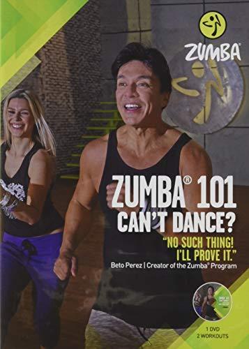 Zumba 101 Dance Fitness for Beginners Workout DVD Original Version, .5x5.25x7.5' .25 LBS