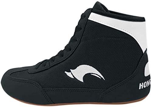 Day Key Low Top Wrestling Shoes for Men, Kids, Youth, Children, Boys, Girls Black, 9