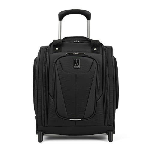 Travelpro Maxlite 5 Rolling Underseat Compact Carry-On Bag, Black, 15-Inch