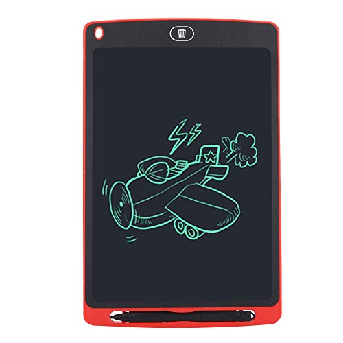 10.0in LCD Drawing Board, Writing Board, Ultra Thin Touch Portable Light Tablet for Artists, Drawing, Animation, Message Board for Child, Office, Work, Study, Best Gift(Red)