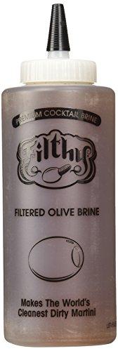 Filthy Food Filthy Olive Brine Case - Premium Dirty Martini - Made in the USA, Non-GMO & Gluten Free - 12oz, 1 Count