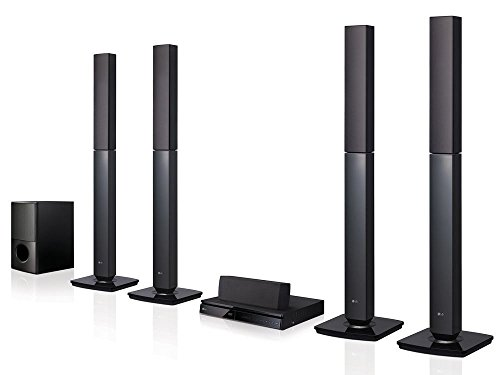 LG LHD657 Bluetooth Multi Region Free 5.1-Channel Home Theater Speaker System w/ Free HDMI Cable, 110-240 Volt