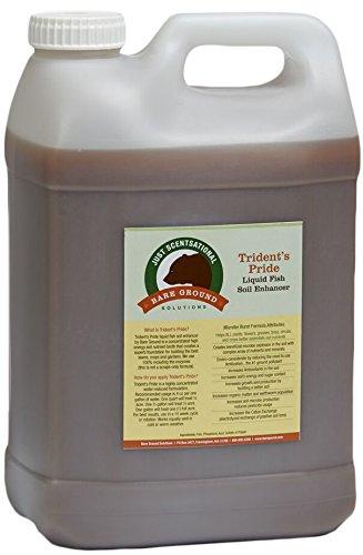 Just Scentsational TP-2.5G Trident's Pride Organic Liquid Fish Hydroponic Soil Fertilizer, 320 oz (2.5 Gallon)