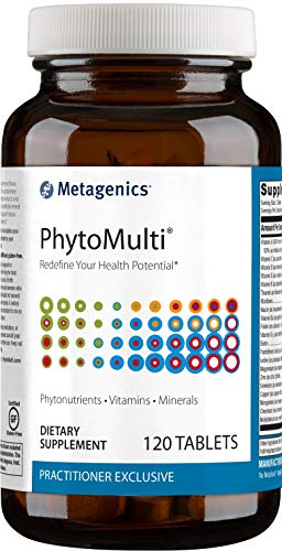 Metagenics - PhytoMulti Without Iron – Multivitamin Supplement (120 Tablets)