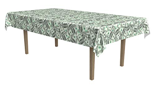 Big Bucks Tablecover Party Accessory (1 count) (1/Pkg)