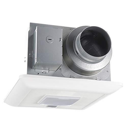 Panasonic FV-0511VQCL1 WhisperSense DC Ventilation Fan with Light, 50-80-110 CFM