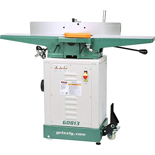 Grizzly Industrial G0813-6' x 48' Jointer with Economy Stand