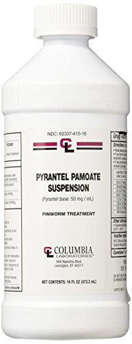 Pyrantel Pamoate Suspension 50 Mg 16 Oz Bottle by Generic