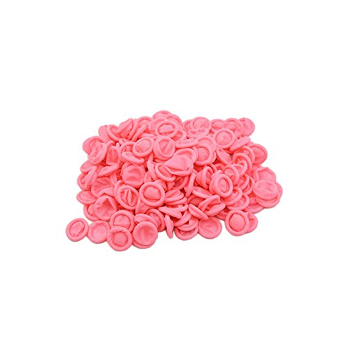 Maxfresh Natural Latex Anti-static Finger Cots,500 PCS (Pink)