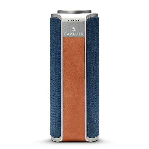 Maverick Portable Wireless Bluetooth Speaker - WiFi Audio Streaming Music Player - Alexa Enabled, 20w, 4 Speakers, Control with iPhone and Android App, by Cavalier