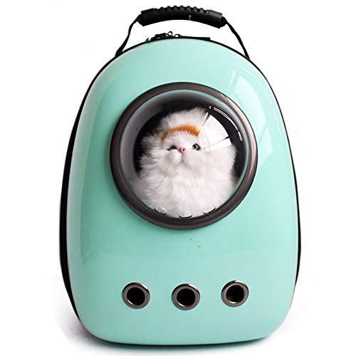 LEMONDA Portable Pet Travel Carrier,Space Capsule Pet Cat Bubble Backpack,Waterproof Traveler Knapsack for Cat and Small Dog Mutil Colors to Choose
