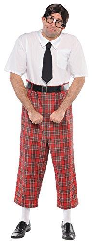 amscan 841176 Nerd Costume, Adult Standard Size, 1 Piece