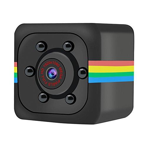 ZIXING Mini Spy Camera Wireless Hidden, DVR DV Recorder Camcorder 720P HD Remote Control Detection Night Vision Home Security Nanny Surveillance Portable Micro Cam for Indoor/Outdoor/Car