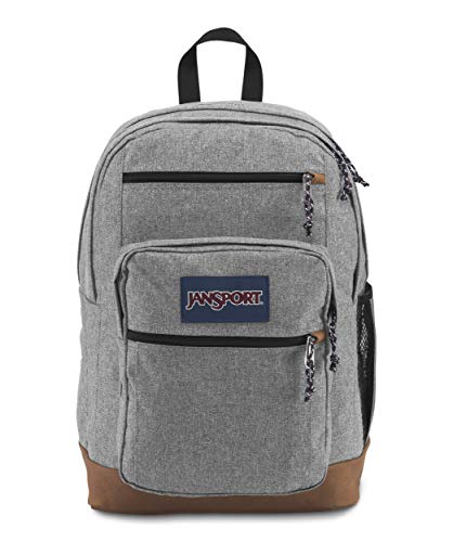 JanSport Cool Student, Grey Letterman Poly, One Size