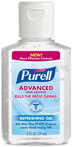 Purell Hand Sanitizer 2 oz (Pack of 2), 2 Fl Oz (Pack of 2)